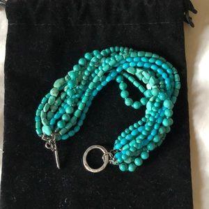 Sundance Catalog Turquoise bracelet